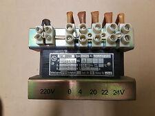 Transformator,TGL 29968, pri. 220, sek. 4/20/22/24V, 250/500VA,Trenn Trafo 10,4A
