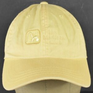 Yellow The Madison Club Logo Embroidered Baseball Hat Cap Adjustable