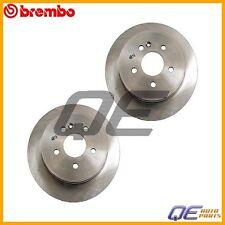 2 Rear Disc Brake Rotors Brembo 1634210112 For: Mercedes W163 ML320 ML350 ML430