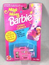 Vintage NIP 1992 Mattel Magic Moves Barbie Video Camera  Accessory 7561