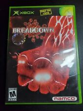 Breakdown Break Down Namco Microsoft Xbox EX condition-/