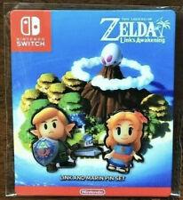Zelda Link's Awakening PIN SET - Nintendo Switch - 2019. Target Exclusive - RARE