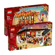 LEGO BNIB 80101 + 80102 CNY REUNION & DRAGON SET