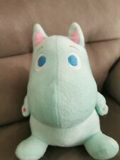 More details for rare moomin japan limited plush doll blue 27cm cute not sold in stores from jp