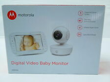 Motorola MBP 50 Video-Babyphone mit Schwenk-, Neige Zoomfunktion Nachtsicht Temp