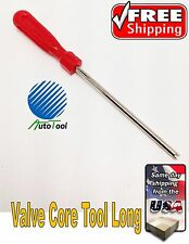 VALVE STEM CORE REMOVER TIRE REPAIR TOOL CAR TRUCK  TUBE INSTALLER LONG