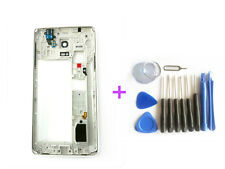 (White) New Samsung Galaxy Note 4 N910A Middle Frame Body Bezel Camera Lens & Ts