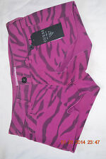 guess juniors NWT size 28 pink zebra print shorts