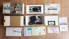 Gameboy Micro Final Fantasy IV 4 Advance Boxed Console set Nintendo Tested CIB