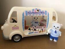 Sylvanian Families Ice Cream Van inc. 2 Polar Bear Figures