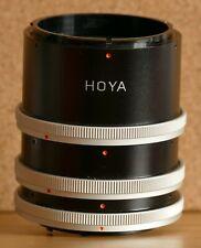 Hoya Extension Tubes Canon Fd