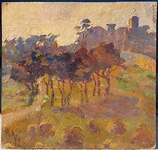 Augustin CARRERA (1878-1952) Paysage Fauve