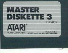 ATARI DOS 3.0 MASTER 5 1/4 DISKS 800/XL/XE 4 Disk NO SLEEVES