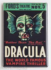 Dracula FRIDGE MAGNET (2.5 x 3.5 inches) window card movie poster bela lugosi