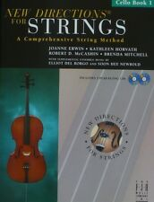 New Directions for Strings, Cello Book 1 with 2 Cds
