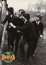 "Running Alongside a Train in "" A Hard Day's Night "" --- Beatles Trading Card"