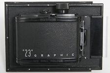 "Graflex ""23"" Graphic Roll Film Holder - 4x5 to 6x9 cm"