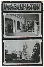 White House Vestibule, National Soldiers Home, Early Washington DC Postcard