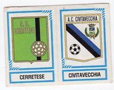 figurina CALCIATORI PANINI 1982/83 NEW numero 567 CERRETESE CIVITAVECCHIA