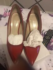 BEAUTIFUL Karen Millen red Stiletto Heels SIZE40/ UK7