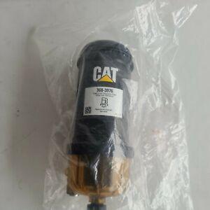 New OEM Cat 368-3976 Fuel / Water Separator Filter & Element Caterpillar
