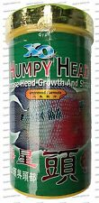 XO OCEAN FREE HUMPY HEAD Flowerhorn Food - Medium M (3mm) - 120g SHIPS FROM USA!