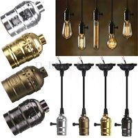 ES E27 Ampoule Titulaire Douille Culot Pour Filament Edison Vintage Lampe Bulb