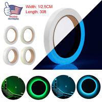 Glow In The Dark Sticky Tape Luminous Saftey Sticker Roll Stage Home Decoration