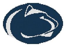 Counted Cross Stitch Pattern, Penn State Nittany Lions Logo - Free US Shipping