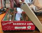 Vintage Eppinger Dardevle Factory Dealer Case of 12 Spoons Lures - New Old Stock