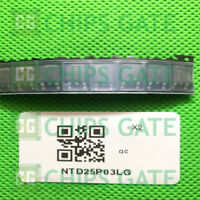 ntd25p03l onsemi p-Channel logl 35v 25a 0,051r dpak New #bp 5 PCs