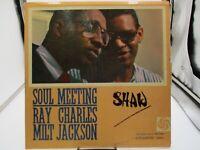 Ray Charles & Milt Jackson - Soul Meeting Atlantic SD 1360 VG/VG+ c VG/VG+
