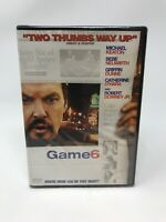 Game 6 (DVD, 2006)  Michael Keaton, Robert Downey Jr.  New Sealed