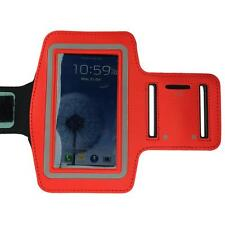 Red Sports Running Gym Armband Arm Band Case for Samsung Galaxy S5 S4 S3 S2
