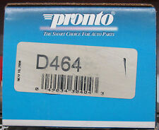 BRAND NEW PRONTO D464 REAR BRAKE PADS FITS VEHICLES LISTED