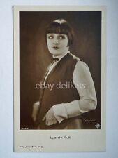 LYA DE PUTTI cinema movie attrice actor vecchia cartolina AK