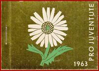 Schweiz 1963 Pro Juventute postfrisches Markenheft ** MNH, Mi 0-52  SBK MH PJ 12