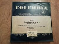 MAHLER * SYMPHONY NO.4 IN G * BRUNO WALTER / DESI HALBAN 33CX 1034 LP VG/EX