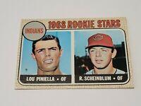 1968 Topps #16 Lou Piniella/Richie Scheinblum Rookie Stars EX-NM Cleveland