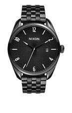 **BRAND NEW** NIXON WATCH THE BULLET ALL BLACK A418001 NEW IN BOX!