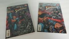 THE DARKNESS / SUPERMAN #1 & 2 (2005) TOPCOW IMAGE FULL SERIES! SILVESTRI COVERS