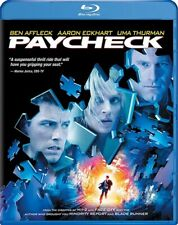PAYCHECK New Sealed Blu-ray Ben Affleck