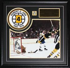 Bobby Orr Boston Bruins The Goal 16x20 with patch frame