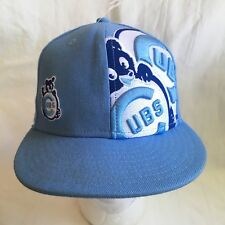 Cubs Chicago Cubby Hat Kids Size 6 5/8 - 53cm NEW ERA 59Fifty Embroidered Fitted