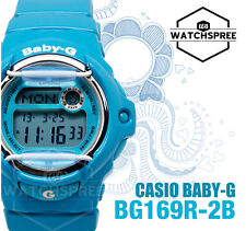 Casio Baby-G Alarm Ladies Sport Watch BG169R-2B AU FAST & FREE*