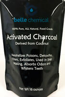Coconut Activated Charcoal Powder - Food Grade - Kosher - Halal