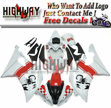 Fairings Body Kit For Yamaha YZF 600 YZF R6 2008-2015 ABS Fairing Kit White Red