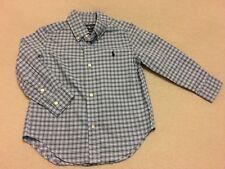 Genuine Ralph Lauren Boys Check Shirt Size 3T Age 3/4
