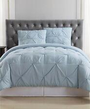 Pem America Truly Soft Pleated 2 Piece Twin Xl Comforter Set Light Blue $90
