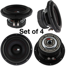 "4 Ds18 Slc 8 8"" Inch Subwoofer 4 Ohm Sub Select Series 4 Pack"